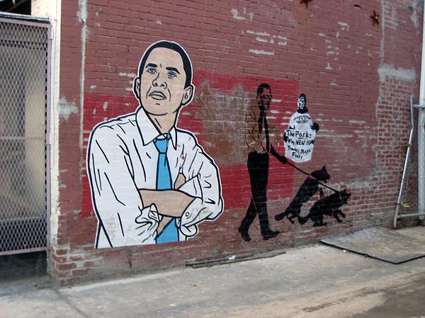Obama Photograph - Obama Pride by Sean Owens
