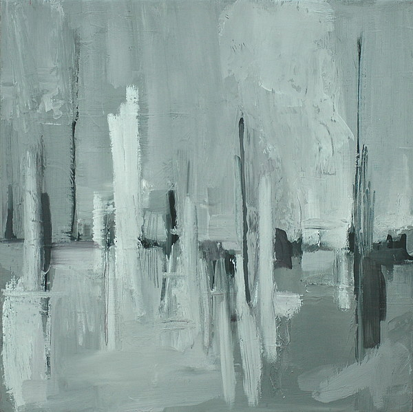 Abstract Painting - Obelisk by Liz Maxfield