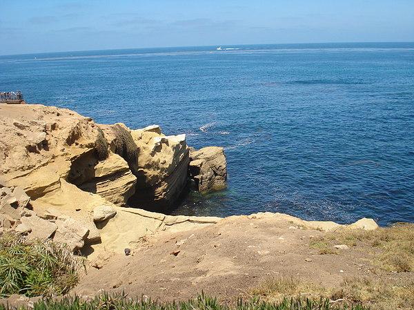 Ocean Photograph - Ocean Cliff by Jacob Runnels
