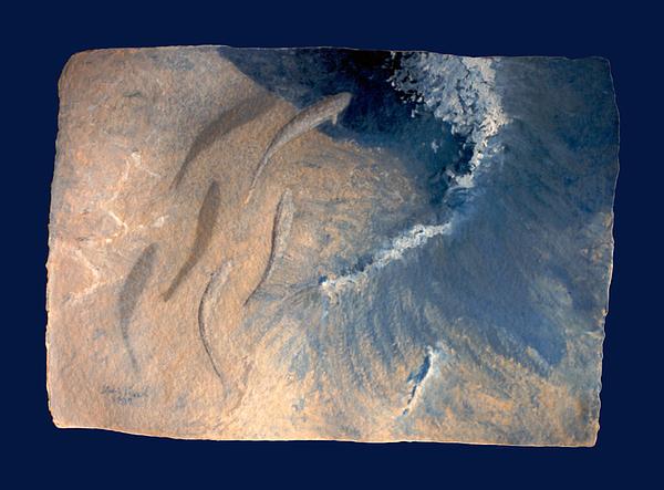 Seascape Painting - Ocean by Steve Karol