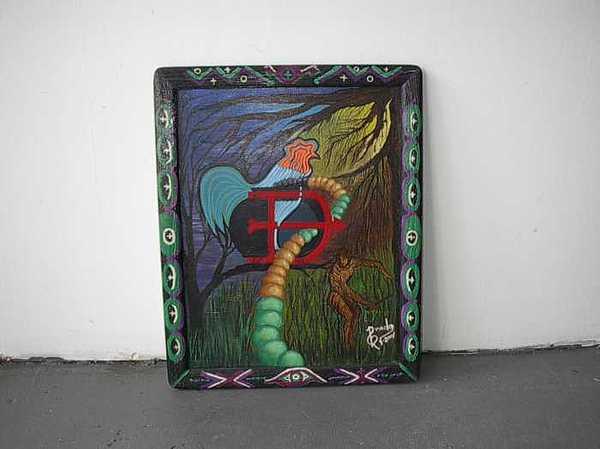 oCHOSI Painting by Carmelo  Prado