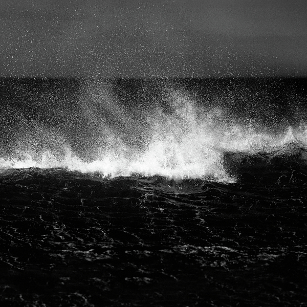 Waves Photograph - Offshore by Dave Bowman