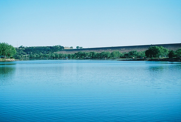 Kingsley Dam Photograph - Ogallala by Dawn Johnson