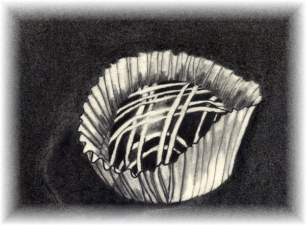 Food Drawing - Oh Chocolate by Penny Everhart