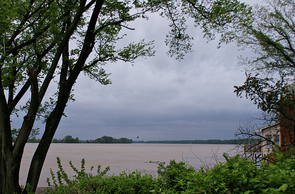 Ohio River Photograph - Ohio River by Sandy Keeton