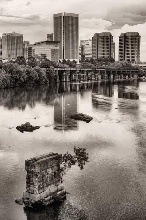 Richmond Photograph - Old And New by JC Findley