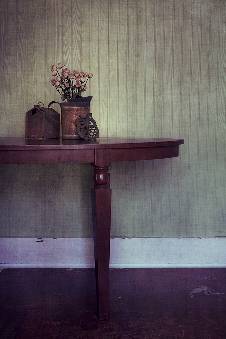 Rusty Photograph - Old And Rusty by Priska Wettstein