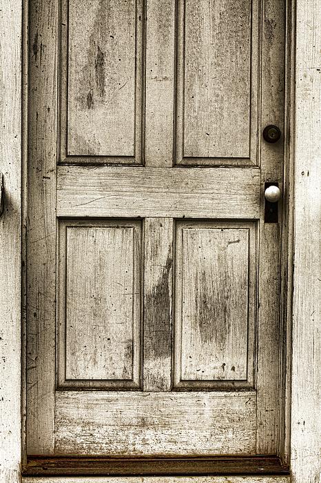 Antique Door Photograph - Old Church Door by Bonnie Bruno