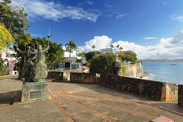 Puerto Rico Photograph - Old City In The Caribbean by George Oze