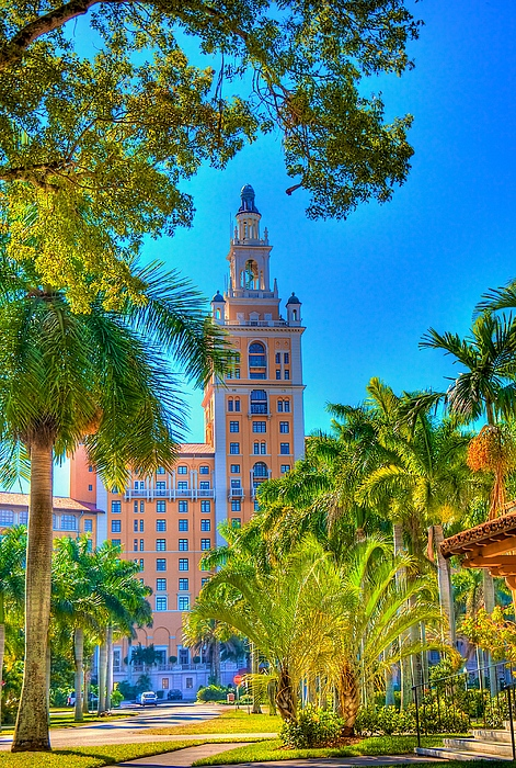 Architecture Photograph - Old Coral Gables by William Wetmore