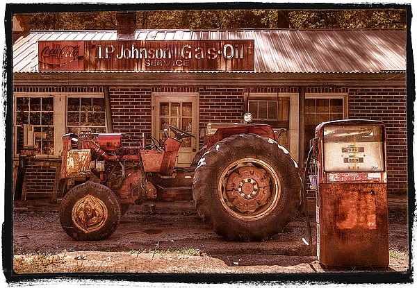 Appalachia Photograph - Old Days Vintage by Debra and Dave Vanderlaan