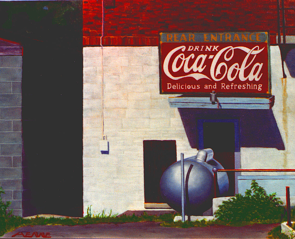 Deli Painting - Old Deli by Robert Henne
