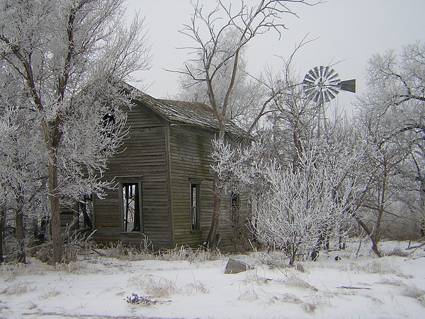 Deserted Photograph - Old Deserted Farmstead by Deena Keller