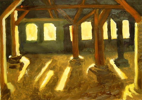 Building Painting - Old Factory by Serge Verwest