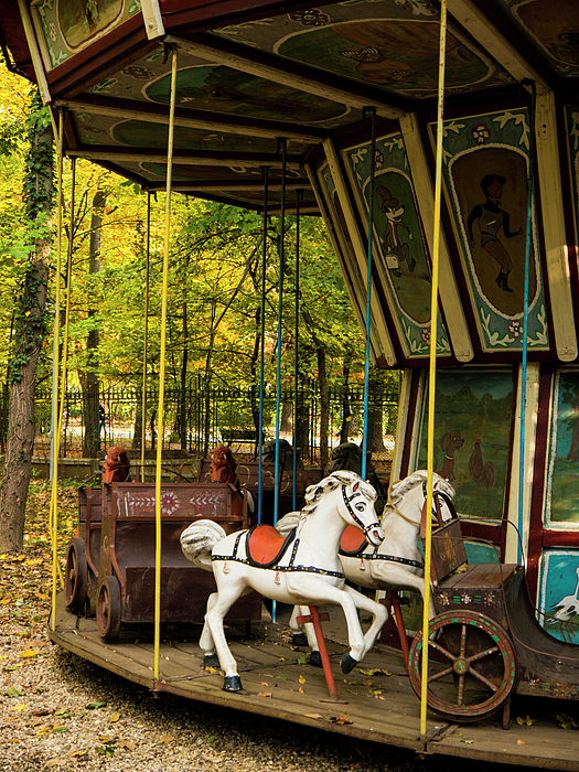 Bucharest Photograph - Old-fashioned Merry-go-round by Rae Tucker