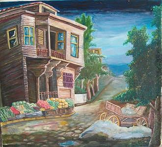 Old House Painting - Old House by Fahrettin  Oktay