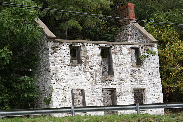 Scenic Photograph - Old House by Heather Green
