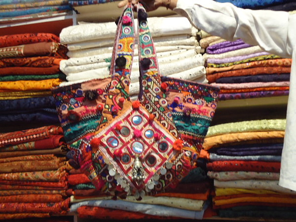 Patchwork Bags Tapestry - Textile - Old Indian Bags by Dinesh Rathi