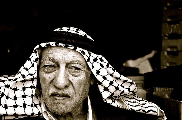 Black Pyrography - Old Man  by AbdelHafez  Hyassat