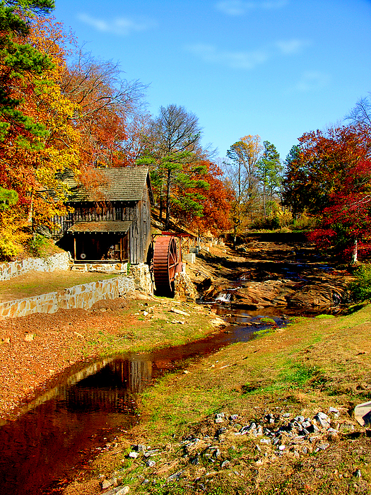 Mill Photograph - Old Mill by Ralph  Perdomo