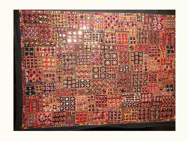 Old Patchwork Tapestry - Textile - Old Patchwork by Dinesh Rathi