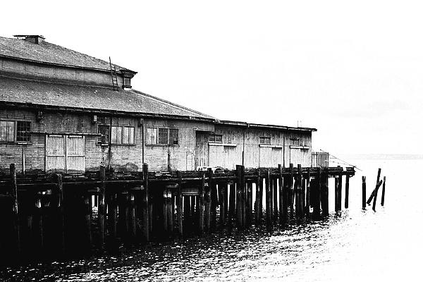 History Photograph - Old Pier by Karen Ulvestad