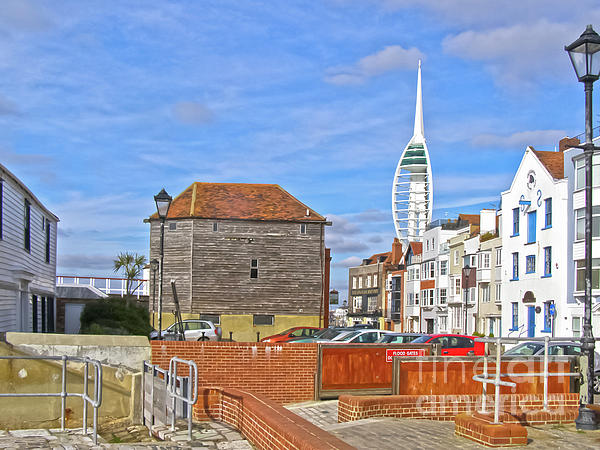 Floodgate Photograph - Old Portsmouth Flood Gates by Terri Waters