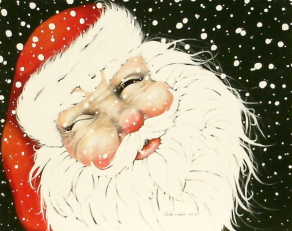 Old Saint Nick Mixed Media - Old Saint Nick by Paula Weber