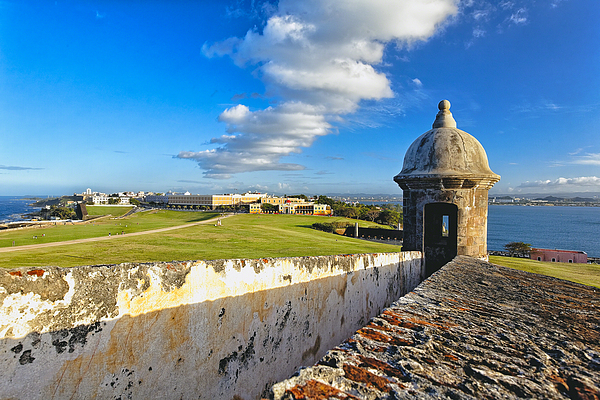 Architecture Photograph - Old San Juan Vista by George Oze