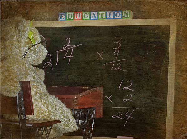 Academic Mixed Media - Old School by Maria Dryfhout