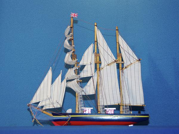 Ship Photograph - Old Tall Sail Ship by Hugh Kroetsch