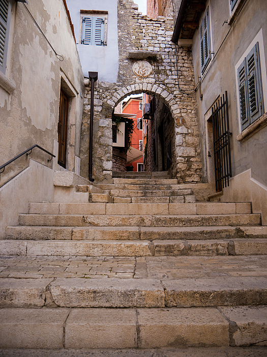 Rovinj Photograph - Old Town Entrance by Rae Tucker