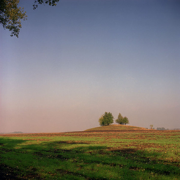 Landscape Photograph - Old Tumulus by Volodymyr Petrenko