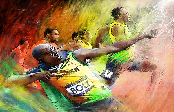 Miki De Goodaboom - Olympics 100 m Gold Medal Usain Bolt