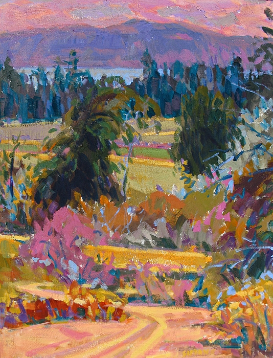 Paintings Painting - On The Peninsula by Brian Simons