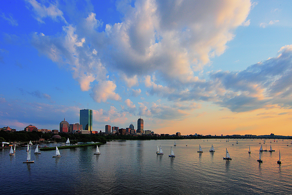 Longfellow Bridge Photograph - On The River by Rick Berk