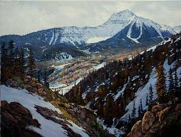 On The Road To Telluride Painting by Donald Neff