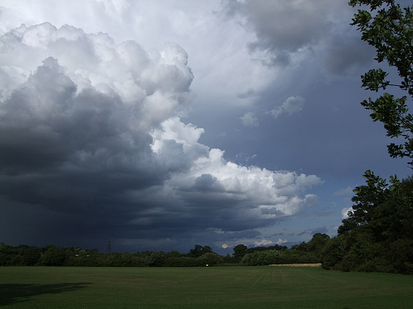 Storm Photograph - Oncoming Storm by Deborah Brewer