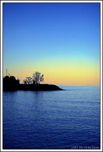 Ontario Lake Scenery Photograph by Sean Xiao