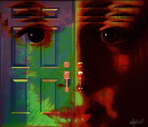 Self Digital Art - Open Discovery by Sylvia  Pekarek