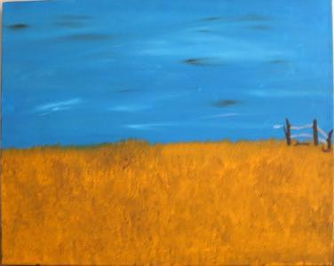 Open Space Painting by Christina Beyer