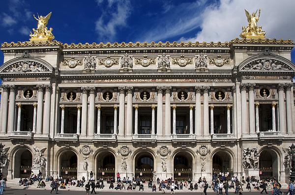 Paris Photograph - Opera Garnier. Paris. France by Bernard Jaubert