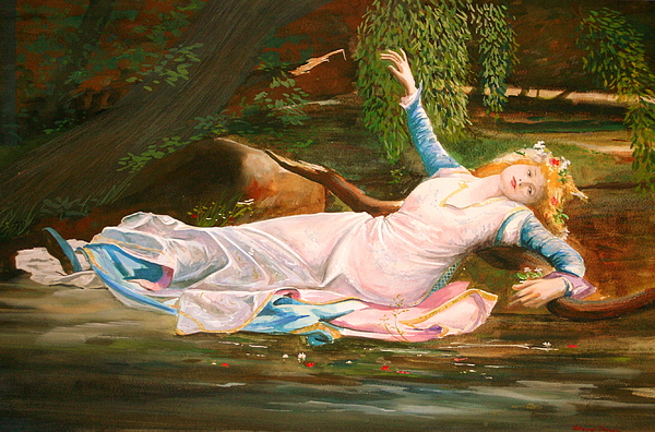 Ophelia Painting - Ophelia  by Steve Jones