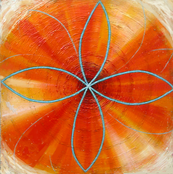 Colors Painting - Orange Chakra by Anne Cameron Cutri
