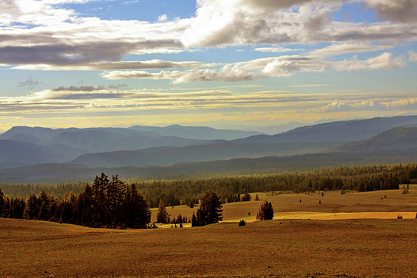 Overlooking Photograph - Oregon - Land Of The Setting Sun by Christine Till