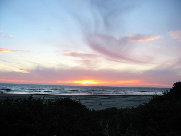 Nature Photograph - Oregon Coast Sunset by Mirinda Kossoff