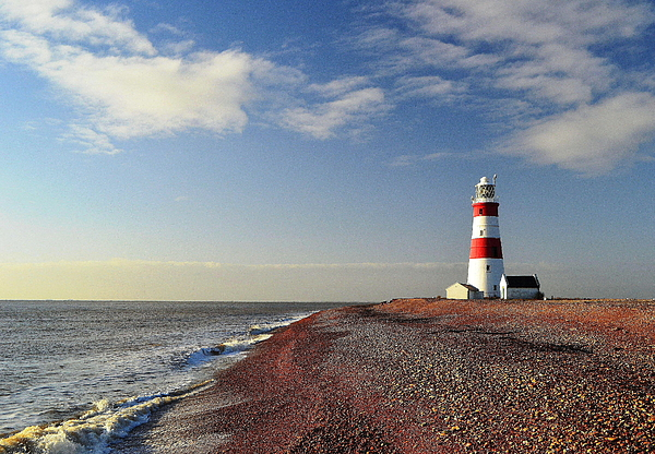 Horizontal Photograph - Orford Ness Lighthouse by Photo by Andrew Boxall