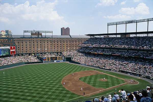 Baltimore Orioles Photograph - Orioles Park. Kansas City Royals by Brian Gordon Green
