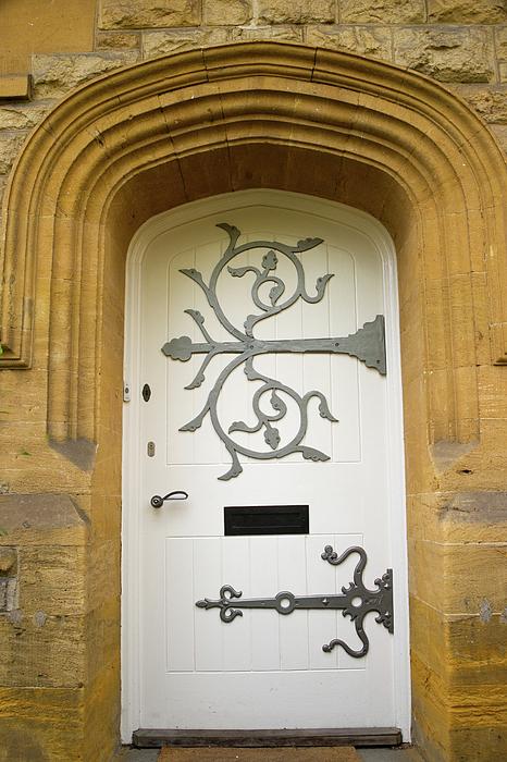 Door Photograph - Ornate Door 1 by Douglas Barnett