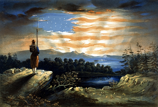 Civil War Painting - Our Heaven Born Banner by War Is Hell Store